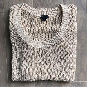 Club Monaco Long Sleeve Scoop Neck Sweater